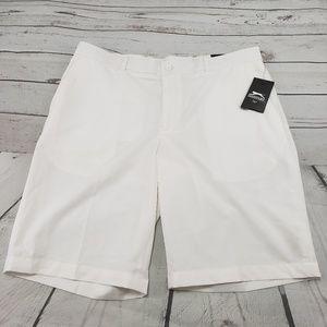 Slazenger Golf Shorts Size 38 Men White Modern Fit